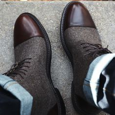The Jack Boot in brown. Available now at www.taftclothing.com