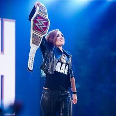The Man is ready for SummerSlam and is coming for her throne. Everything she's promised she's delivered and we expect that to continue. The Man The Myth The Legend LINKS IN BIO Wrestling Divas, Women's Wrestling, Becky Lynch, Wwe Raw And Smackdown, Becky Wwe, Bliss, Rebecca Quin, Wwe Female Wrestlers, Stone Cold Steve