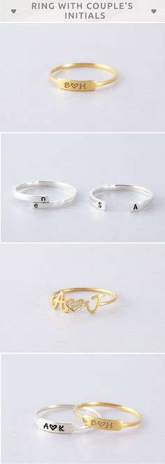 Double Initial Ring • Ring with couple's Initials • Heart Ring with Initials • Custom Signet Ring- Couple Initials • Two Initial Open Ring • Double Initials Ring with Heart • Personalized initial ring • Custom initial ring • Engraved ring • Innitial rings for couple • Memorial ring • Personalized initial jewelry • couple presents • christmas gifts for gf • best engagement gifts for couples • personalised engagement gifts for engaged couple • wedding engagement gifts