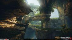 ArtStation - Uncharted 4 Environment Art, Brian Recktenwald