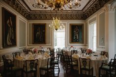 Wedding breakfasts in the Council Room #Londonwedding #wedding #london #weddingbreakfast #finedining #flowers  Photo by Voyteck Photography - www.london-weddingphotographer.com