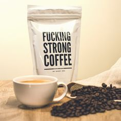 F*cking Strong Coffee : Café très fort | CadeauxFolies