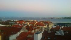 Lisboa, Tejo, Lisb'on hostel view