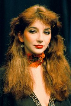 Picture of Kate Bush Women Of Rock, Stevie Nicks, Female Singers, Record Producer, Music Artists, Hair Styles, Pretty, People, Beautiful