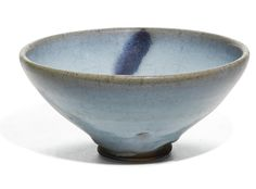 A purple-splashed 'Jun' bowl, Song dynasty. Photo Sotheby's.
