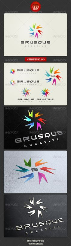 Colorful Modern Logo Design - http://graphicriver.net/item/colorful-modern-logo-design/3006074?ref=cruzine