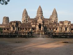 Angkor Wat, Siem Reap, Cambodia.Spanning roughly 250 miles, Angkor Wat is the world's largest religious monument. It's also a powerful throwback to the Khmer Empire, the Hindu-cum-Buddhist government of Southeast Asia that ruled between AD 802 and 1431. In fact, the entire structure of the wat—or temple—mirrors the Hindu cosmos. Today, it attracts scores of visitors yearly for its impressive infrastructure and spiritual atmosphere.