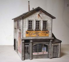 Free Ho Paper Buildings | Paper model finished - General Discussion (Model Railroader) - Model ...