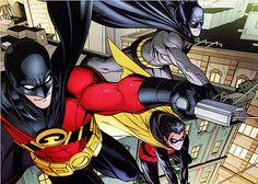 Red Robin & Robin & Batman