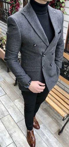 Giorgenti New York Custom Suits Tuxedo Long Island NYC Bespoke Tailor Custom Dress Shirt Giorgenti New York Custom Suits Tuxedo Long Island NYC Bespoke Tailor Custom Dress Shirt nbsp hellip Blazer Outfits Men, Mens Fashion Blazer, Stylish Mens Outfits, Suit Fashion, Mens Blazer Styles, Tweed Blazer Men, Grey Blazer Outfit, Tweed Suits, Fashion Guide