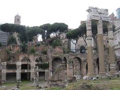 The Foro Romano,  Ancient Ruins of Rome Italy ...breathtaking!