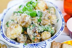 Potatissallad med smak av Italien