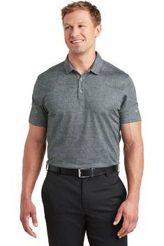 Add custom printed logo to Nike Golf Dri-FIT Crosshatch Polo 391 Anvil Ladies' Sheer Scoop-Neck Tee Company Logo Shirts, Clothing Logo, Branded Shirts, Nike Golf, Work Shirts, Office Outfits, Nike Dri Fit, Wholesale Clothing, Fitness