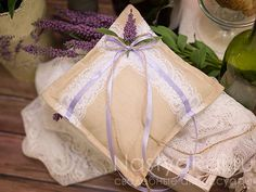 Ring Pillow Lavender