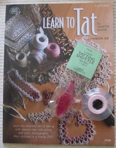 I have this book, and it is fantastic.  I learned more from this book and DVD than I learned from taking a tatting class.