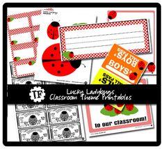 Ladybug Classroom Theme by Krissy.Venosdale, via Flickr