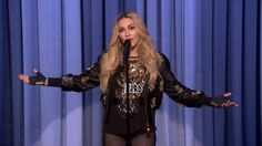Madonna Makes Her Stand-Up #Comedy Debut -- #TheTonightShow #JimmyFallon