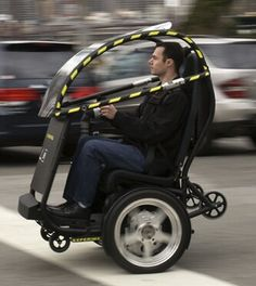 GM and Segway got together and built the new balanceing two wheeler.