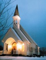 Whitestone Country Inn, Kingston, Tennessee.  Beautiful chapel for weddings.