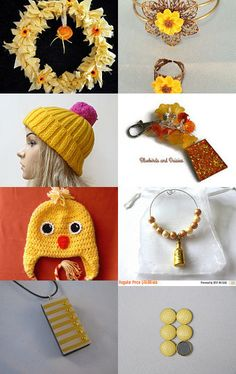 #promotingwomen Sunshine Yellow  by Nicky Payne on Etsy--Pinned with TreasuryPin.com
