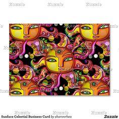 Sunface Celestial Business Card - http://www.zazzle.com/sunface_celestial_business_card-240512713570356263