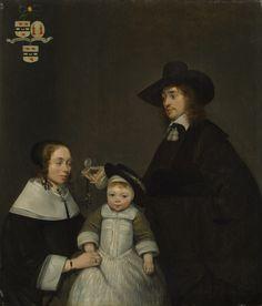 Gerard ter Borch - Familie Van Moerkerken