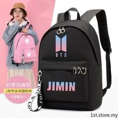 2019 Outdoor wild casual bangtanes student school canvas backpack boys kpop army bomb fresh trend fan pouch bags for women Bts Backpack, Canvas Backpack, Laptop Backpack, Mochila Kpop, Mochila Do Bts, Cute Backpacks, School Backpacks, Bts Bangtan Boy, Bts Jungkook