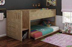 The price is insanely out of budget for me but I LOVE this bed - the storage, the stairs and the fact that the bottom bunk is a king single (double?).  Awesome. Jade Low Bunk Bed | Wayfair Australia