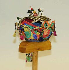Korean wedding headdress ca. 1800-1941