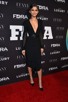 Zendaya at the 30th FN Achievement Awards in NYC 11/29/16