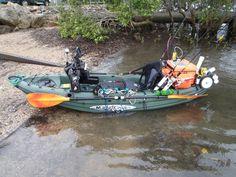 Getting in to kayak fishing