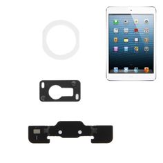 [$1.13] High Quality Home Button Plastic Pad for iPad Air(White)