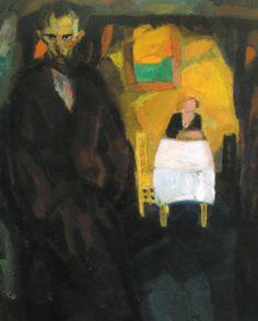 Frits Van den Berghe (Belgian, 1883-1939)  Obsession, 1919  oil on canvas  Galerie Oscar de Vos, Sint-Martens-Latem, Belgium