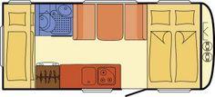 Wohnwagen Dethleffs c-go 495 QSK - Kinderstockbett, 5 Schlafplatze - ID: HC1930011 #Dethleffs #c-go #495 QSK #Wohnwagen - Caravans - Wohnwagen & Reisemobile