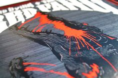 RED FANG + Lord Dying + The Shrine by Anoik Anoik, via Behance