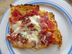 Mainio pizzapohja kukkakaalista