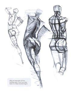 ISSUU - Figure drawing - design ilustration de Vinicius Dinofre Dada
