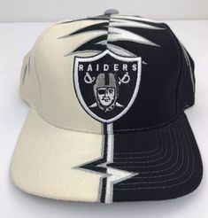 Oakland Raiders Starter Snapback Cap Hat Sharktooth Splash Script Shockwave  NFL  Starter  OaklandRaiders Oakland 48125707022a