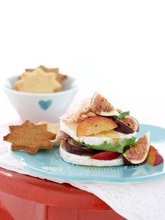 Deliciously Fruity Camembert Stacks