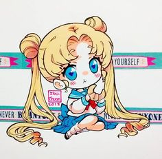 Chibi Usagi Tsukino~Sailor Moon