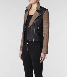 I found that jacket again!!! ahhh why do you have to $700 :( AllSaints Amity Biker Jacket | Womens Leather Biker Jackets