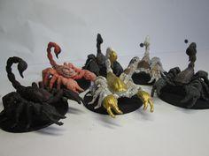 Scorpions  Original Model From http://www.shapeways.com/designer/mz4250/creations