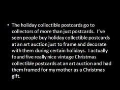 Looking for Collectible Postcards