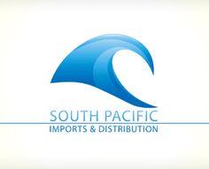 South Pacific Imports & Distribution by Skivi (via Creattica)