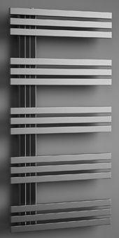 Plieger Inox Suono Destra designradiator horizontaal RVS Suono Destra 1000x500mm inox