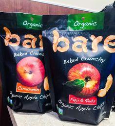 Example: Granny Smith Apple ChipsServing size: 1/2 cupIngredients: Apples.Calories: 110 Total carbs: 27 gramsFat: 0 gramsProtein: 1 gramFiber: 5 gramsSugar: 18 gramsSodium: 0 milligrams