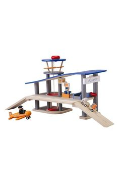 PlanToys® Wooden Airport Toy available at #Nordstrom