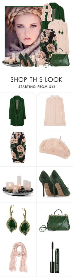 """Senza titolo #2131"" by fede92 ❤ liked on Polyvore featuring Chloé, Dolce&Gabbana, Dorothy Perkins, Philippi Design, Sergio Rossi, 1928, Mint Velvet, Clinique and L'Occitane"