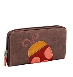 Boleh place dulu kalau nak =) Fossil Ladybug Zip Around Leather Wallet Carry it alone as a clutch . Ladybugs, Women's Accessories, Fossil, Leather Wallet, What To Wear, Zip Around Wallet, Purses, My Style, Womens Fashion