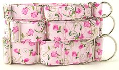 Collar Planet - Pink Rosebud Martingale Dog Collar (http://www.collarplanetonline.com/dog-collars/pink-rosebud-martingale-dog-collar/) The perfect Martingale for the girls this Spring and Summer season.